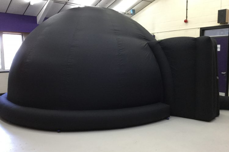 Inflatable dome - portable planetarium